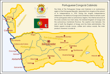 One Hour Map Challenge - Port. Congo and Cabinda by SoaringAven