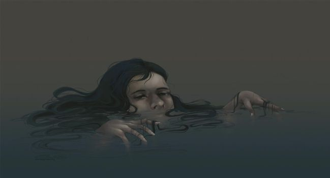 Drowning by eychanchan