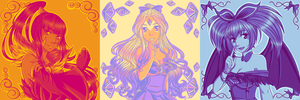 Palette Challenge for Egeel - 4,32 and 5 by Buttea