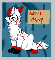 Adoptable-5 Points by MishkaWolf