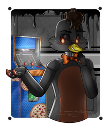 ''How About Play A Little Game? (Commission)'' by xXxLorenaxXx