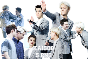 Kaisoo's PNG Pack by kamjong-kai