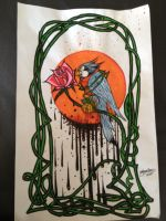 Why The Caged Bird Sings by NoahBDesign