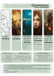 Commission Info Sheet by DM7