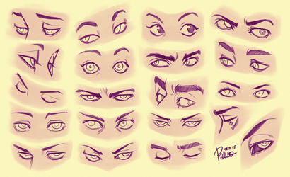 Eyes 2 by GoldenTar