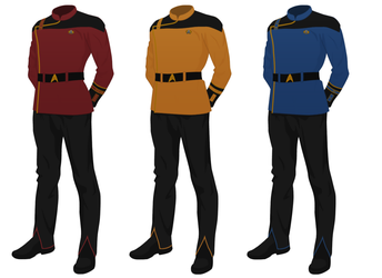 Star Trek Uniform concept, dress uniform variant 2 by JJohnson1701