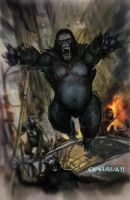 planet of the apes by EVC