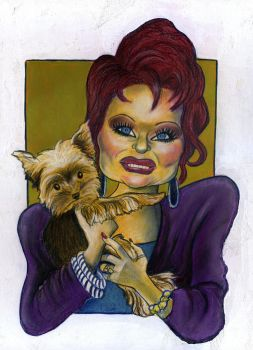 Tammy Faye Bakker Messner by Caricature80