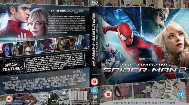 The Amazing Spider-man 2 Blu-Ray cover by MrPacinoHead