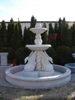 Stone Swan Fountain by FantasyStock