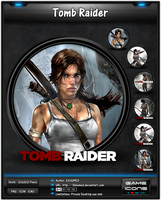 Tomb Raider - Game Icon Pack by 3xhumed