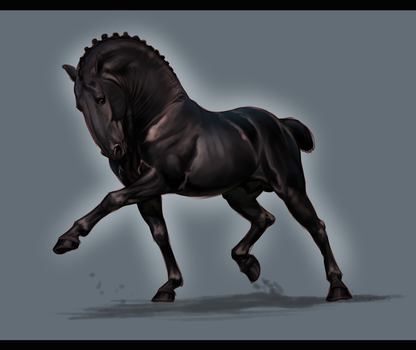 WS Bastille - Dozymare mini commish by BH-Stables