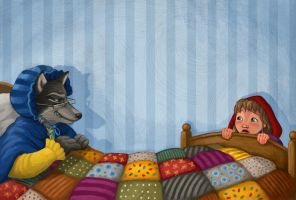 Red Riding Hood Spread 6 by CAMartin