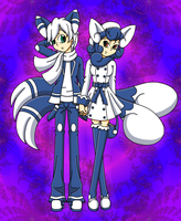 Meowstic Pokemon Humans by drinkyourvegetable