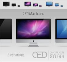 27' iMac Icon OS X by CE0311
