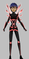 Taranee's Cyber Space form for Hacker W.I.T.C.H. by XVDragon