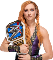 Becky Lynch 2018 NEW SDLIVE Women's Champion PNG by AmbriegnsAsylum16