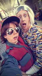 Back to the Future - Marty and Doc 2015 by kathy1602