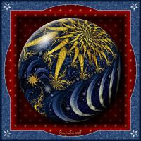 Gift Box Marble - Night Sky by Velvet--Glove