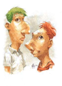 The REAL Phineas and Ferb by MarcelPerez