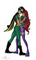 Robin and Starfire take 2 by hanime