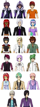 DROU: Did someone say sprites? by Zeirt