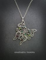 silver butterfly by nastya-iv83