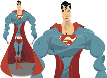Superman by doncroswhite