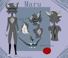 Maru Character Reference by Clockwork-Shadow