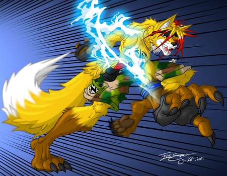 Lightning the Fox by ACommonMisconception