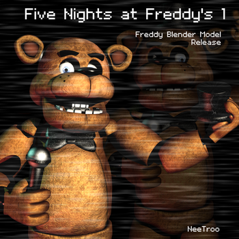 FNaF 1 Freddy Blender RELEASE (DL IN DESC) by NeeTroo