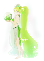 Cookie Run Lime cookie by owlorange