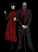 Destro and the Baroness by justingil