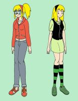 Gwen Stacy Before and After by streetgals9000 by JQroxks21