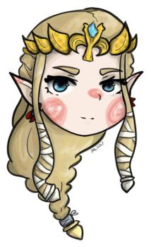 I did Zelda again too  by EvilCrayonsOfDoom