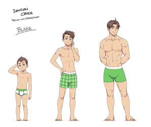 age progression: Blake Hawke by SNEEDHAM507