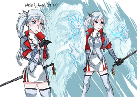 Shattered Tomorrow | Weiss Schnee by AaronKTJ