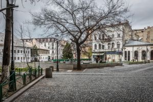 Romania for ever - in the old city by Rikitza
