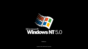 Windows NT 5.0 Startup by TheBC