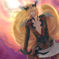 Incandescent Lion, Blond Ezel by 69Erocento