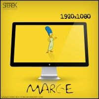 Marge Simpson - Wallpaper by SterekCreations