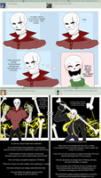 Ask UT!Roman-Waifus and Underfell by putt125