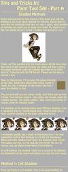Tutorial: Shading Methods in SAI Part A by forte-girl7