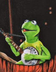 Kermit the Frog by Kalmek182