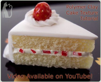 Polymer Clay Cake Texture Video Tutorial by Talty