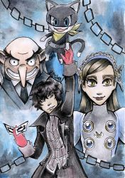 P5 Unleash yourself - unfinished by 7marichan7