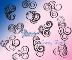 Crazy Swirls brushes by puzzysche