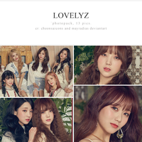 lovelyz photopack by mayradias