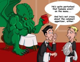 Laughs with Cthulhu by DrChrissy