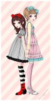 gothic and lolita D by pochysama
